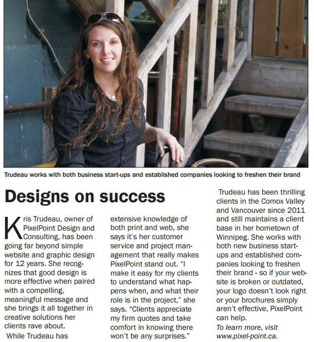 Women in Business Feature in CVBG